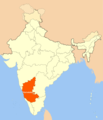 Location Map of Karnataka - Mapsof.Net Map