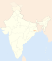 Location Map of Kolkata - Mapsof.Net Map