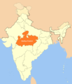 Location Map of Madhya Pradesh - Mapsof.net