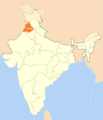 Location Map of Punjab - Mapsof.Net Map