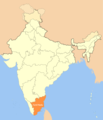 Location Map of Tamil Nadu - Mapsof.net