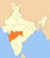 Location Map of Thane - Mapsof.Net Map