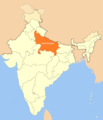 Location Map of Uttar Pradesh - Mapsof.net