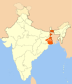 Location Map of West Bengal - Mapsof.Net Map