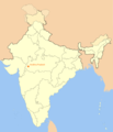 Location Map of Indore - Mapsof.net