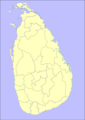 Location Map Sri Lanka - Mapsof.net
