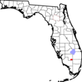 Location of Big Cypress Indian Reservation - Mapsof.net