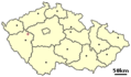 Location of Czech City Kralovice - Mapsof.net
