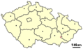 Location of Czech City Kyjov - Mapsof.net