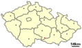 Location of Czech City Moravske Budejovice - Mapsof.net