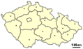 Location of Czech City Pacov - Mapsof.net