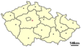 Location of Czech City Ricany - Mapsof.net
