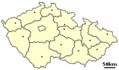 Location of Czech City Stity - Mapsof.net
