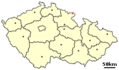 Location of Czech City Teplice Nad Metuji - Mapsof.net