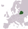 Locationbelarusineurope - Mapsof.Net Map