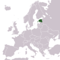Locationestoniaineurope - Mapsof.Net Map