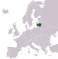 Locationlithuaniaineurope - Mapsof.Net Map