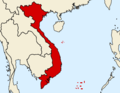 Locationofvietnam 3 - Mapsof.Net Map