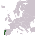 Locationportugalineurope - Mapsof.Net Map
