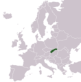 Locationslovakiaineurope - Mapsof.net