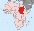 Locationsudan Africa - Mapsof.net