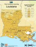 Louisiana Plant Hardiness Zone Map - Mapsof.net