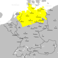 Low Saxon Language Area - Mapsof.net