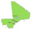Mali Historic Places - Mapsof.Net Map