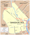 Map Bangkok Noi - Mapsof.Net Map