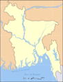 Map Bangladesh Blank - Mapsof.Net Map