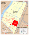 Map Dusit - Mapsof.Net Map