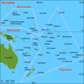 Map Oc Oceania - Mapsof.net