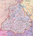 Map of Punjab - Mapsof.Net Map