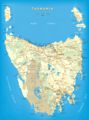 Map of Tasmania - Mapsof.net