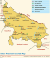 Map of Uttar Pradesh - Mapsof.net