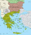Map of Greece And Bulgaria - Mapsof.Net Map