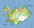 Map of Iceland - Mapsof.net