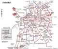 Map of Indore - Mapsof.net