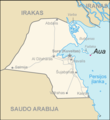 Map of Kuwait Aua (lithuanian) - Mapsof.Net Map