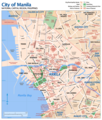 Map of Manila - Mapsof.Net Map