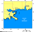 Map of Mississippi Coast - Mapsof.Net Map