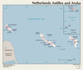 Map of Netherlands Antilles And Aruba - Mapsof.net
