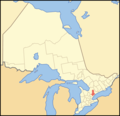 Map of Ontario York - Mapsof.Net Map