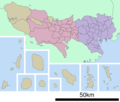 Map of Tokyo Prefecture - Mapsof.net
