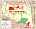 Map Pathum Wan - Mapsof.Net Map