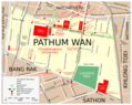Map Pathum Wan Src Eng - Mapsof.Net Map