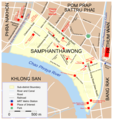 Map Samphanthawong - Mapsof.Net Map