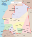 Mauritania Political Map - Mapsof.net