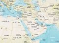 Middle East Physical - Mapsof.net