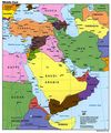 Middle East Political Map - Mapsof.net